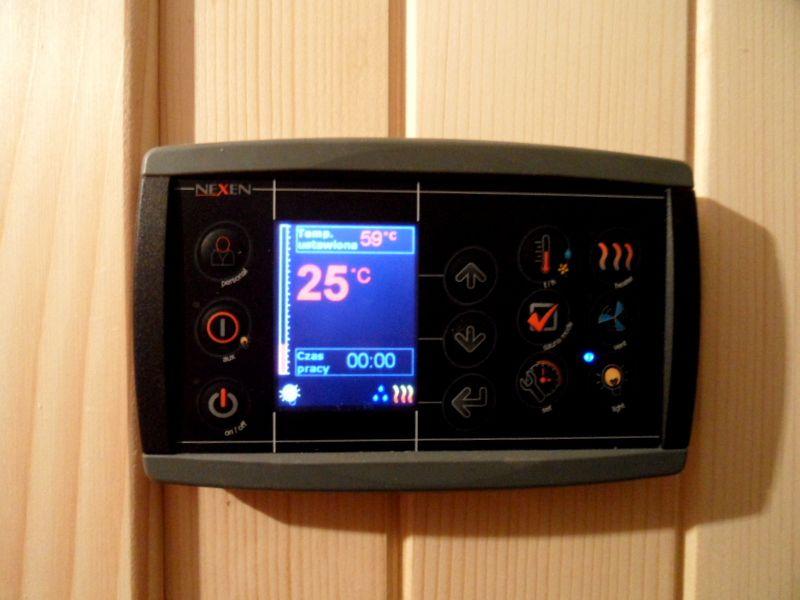 Sterowniki do sauny